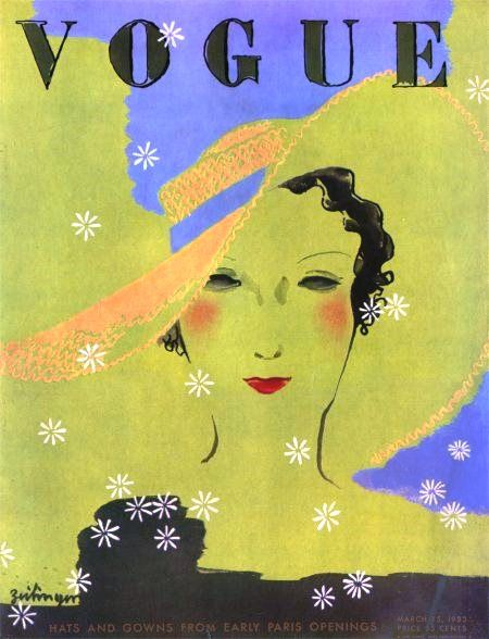 Vogue cover - March 15-1933