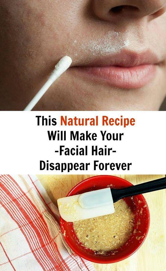 All natural bleach for facial hair are mistaken
