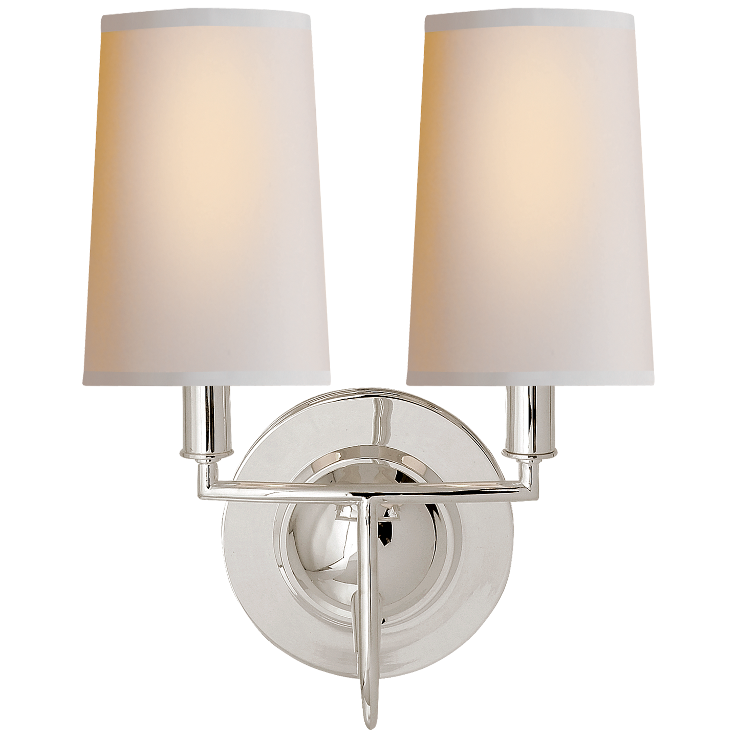 Elkins Double Sconce Visual Comfort Lighting Sconces Double Wall Sconce
