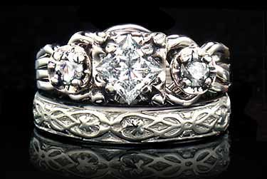 Dream Engagement Ring And Wedding Band Guinevere Royale Diamond