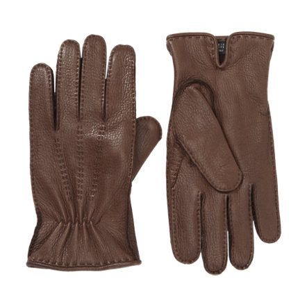 Barneys New York Pick Stitched Gloves