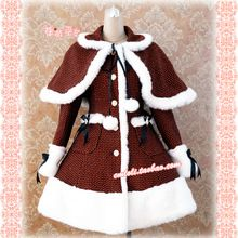 dot winter kleid red lolita kleid wolle m dchen winter kleider mit kappe china mainland lolita. Black Bedroom Furniture Sets. Home Design Ideas