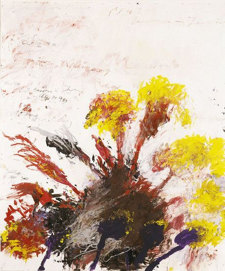 Cy Twombly | Summer Madness (Gaeta / Bassano), 1990