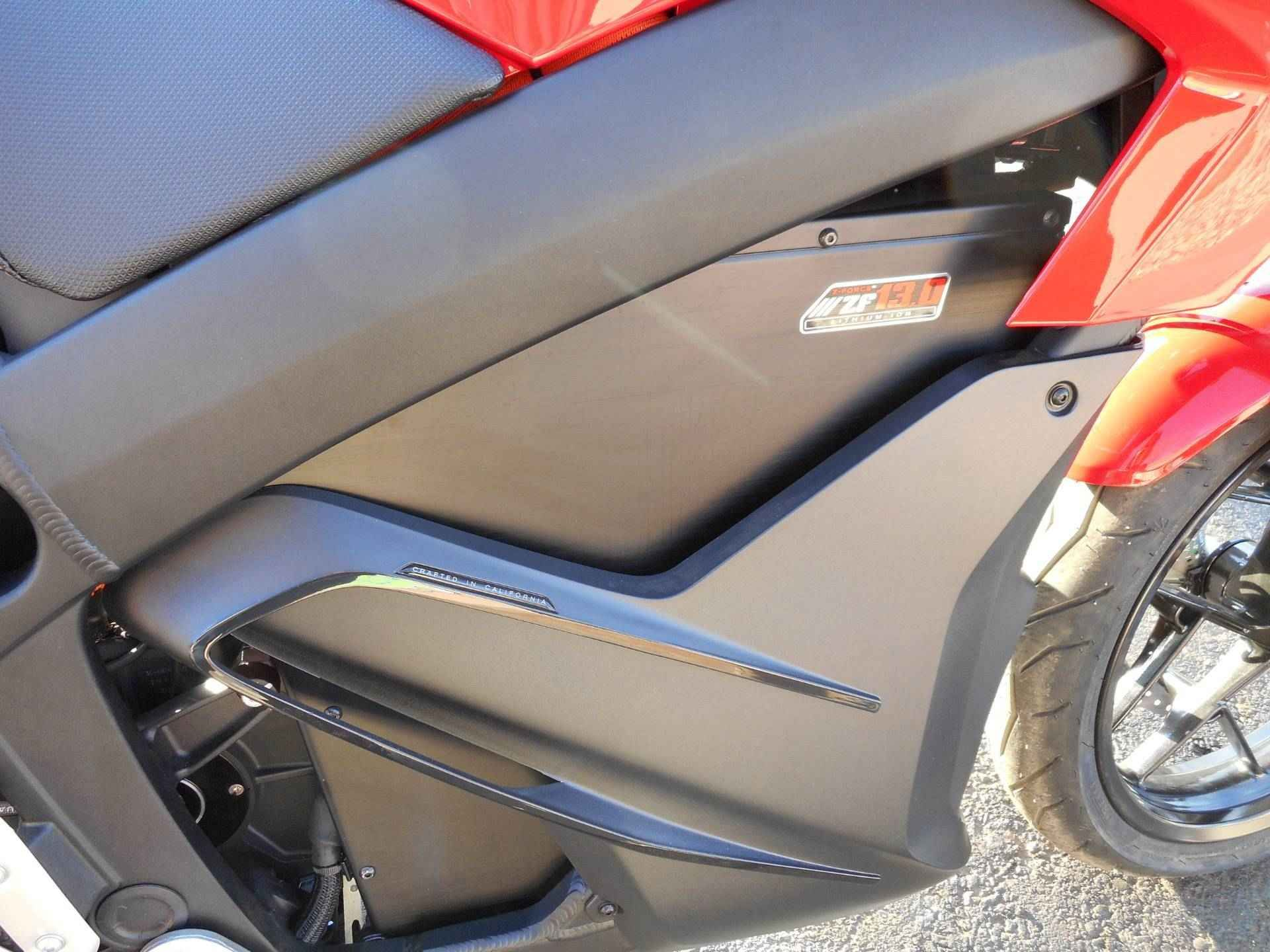 New 2017 Zero Motorcycles SR 13.0 ATVs For Sale in Colorado. Massive Torque, Stunning acceleration, Instantaneous response. The Zero SR amps up performance with a higher output (775 amp) controller and high temperature motor magnets. The result is stunning 116 ft-lb of torque, more than ANY 1,000cc sport bike. With incredible acceleration and higher sustaned top speeds, the Zero SR leaves gas-powered competition in the dust. This SR sports Zero's charge tank which allows the bike to…