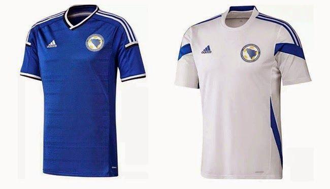 1401dbaf532 Bosnia & Herzegovina 2014 World Cup Team Jersey Wallpaper | FIFA ...