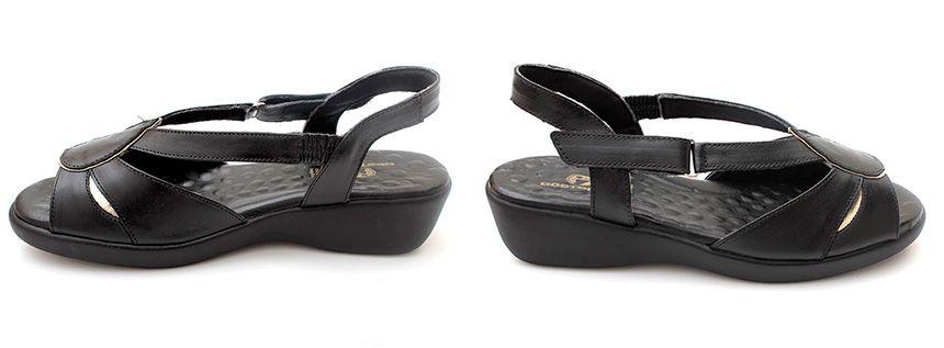 66662b367 Sandália Anatômica Comfort - Preta | Calçados Doctor Pé Roupas Femininas  Plus Size, Loja De