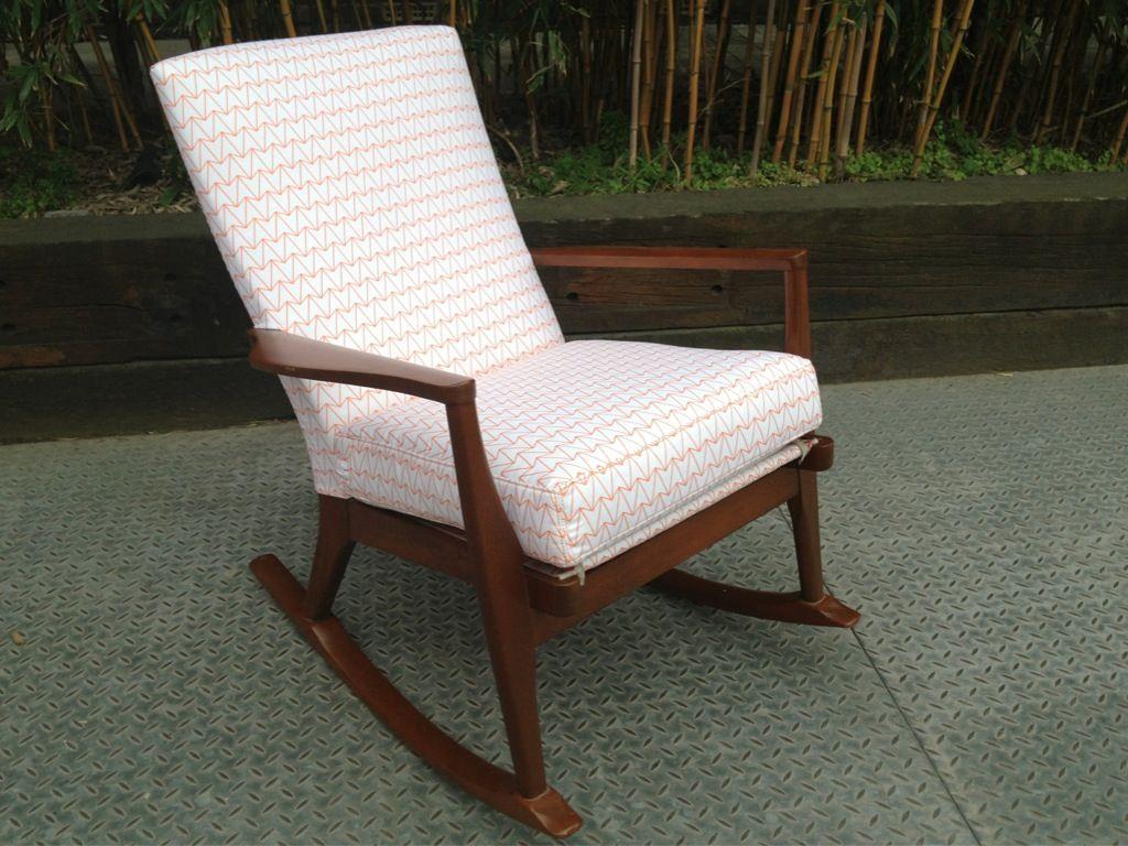 Prime Parker Knoll Rocker Refurbished And Recovered In Short Links Chair Design For Home Short Linksinfo