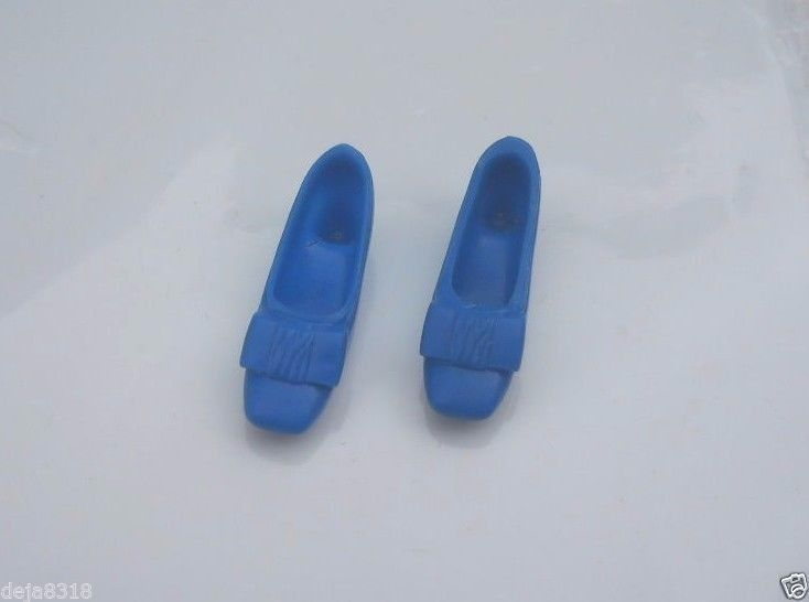 Vintage Skipper Doll Pair Royal Blue Shoes Japan Flats MORE AVAILABLE