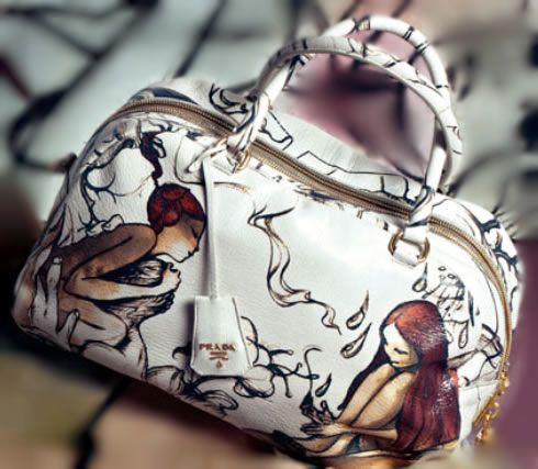 8f0f6dc1d7c8 Prada Fairies Bag | Artist: James Jean | Limited Edition | Image 3 of 5