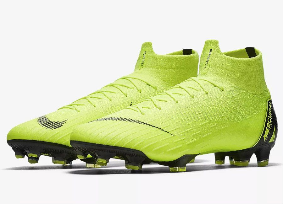 d5e0b6c00  nikefootball  nikesoccer Nike Mercurial Superfly 360 Elite FG Always  Forward - Volt   Black