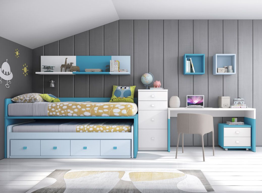 Camas Compactas En Diseno Juvenil Vea Mas Modelos En Www Disenojuvenil Com Habitaciones Juveniles Camas Dormitorios