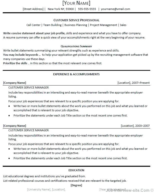 A Resume Title Examples Pinterest Resume examples and Template - resume name examples