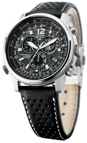 7104988bc5f Citizen - ECO DRIVE RADIOCONTROLADO - Crono Pilot Radiocontrolado -  AS4020-36E