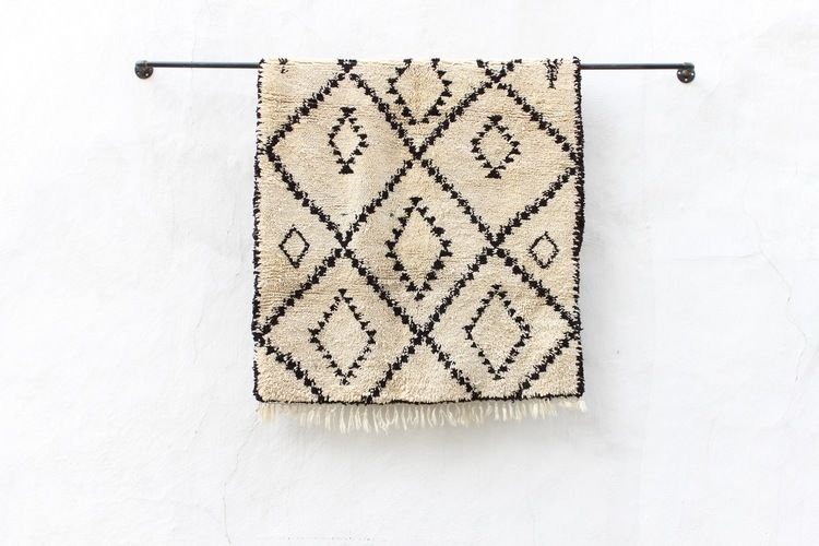 Africa | Blanket ~ Khasa ~ from the Fulani people from ...  |Berber Tribe Fabric