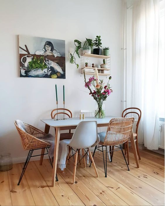 35+ Stylish Ways to Mix and Match Dining Chairs