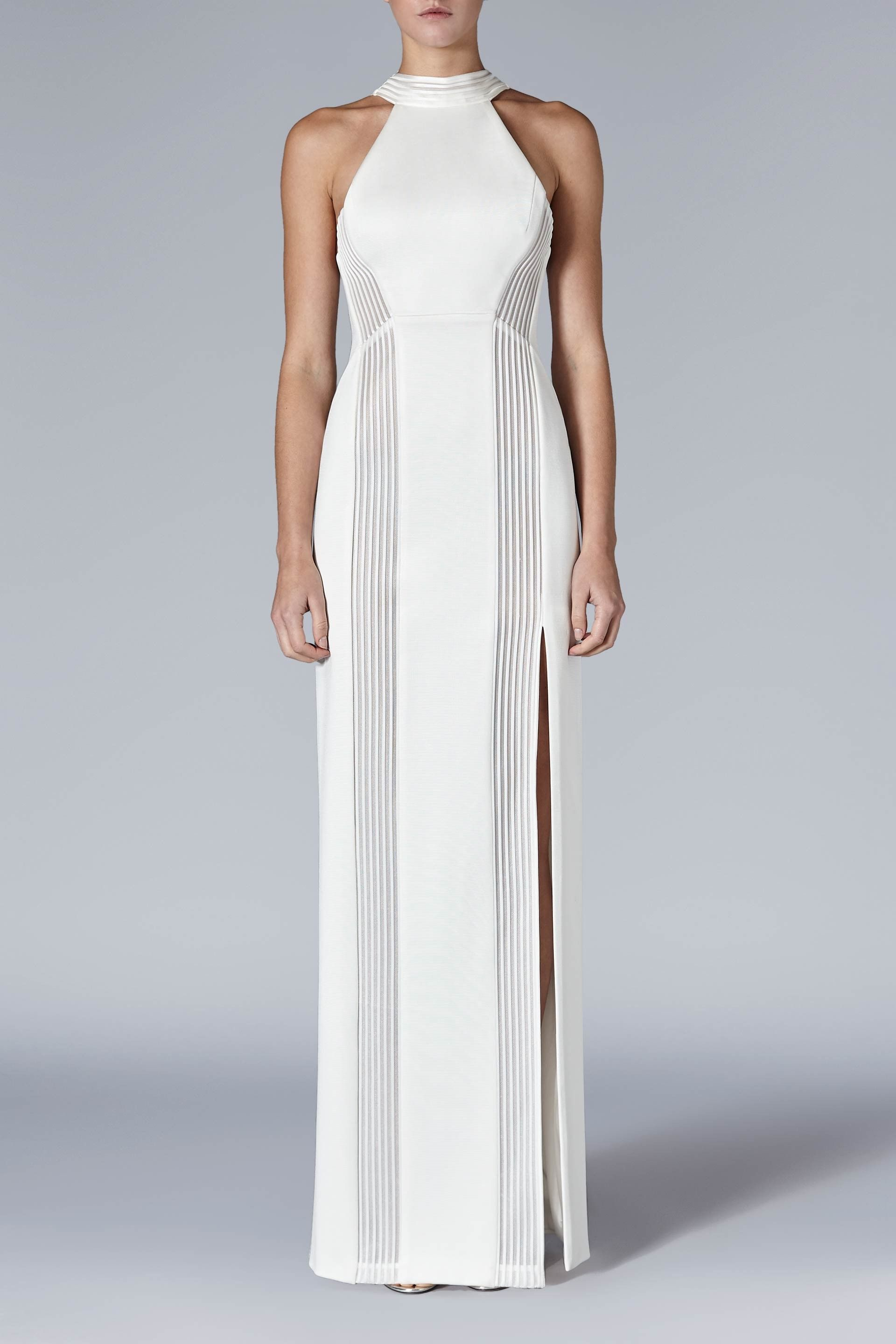 98919b83755 Palm Beach Dress - A statuesque dress with a classical feel, this modern  column dress creates a slim and sleek silhouette. Panels of stretch jersey  and ...