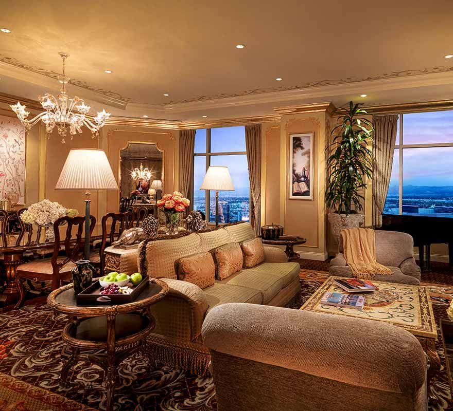 Inside A House In Los Vegas: Venetian Las Vegas Penthouse Suite #NFocusTravelNetwork