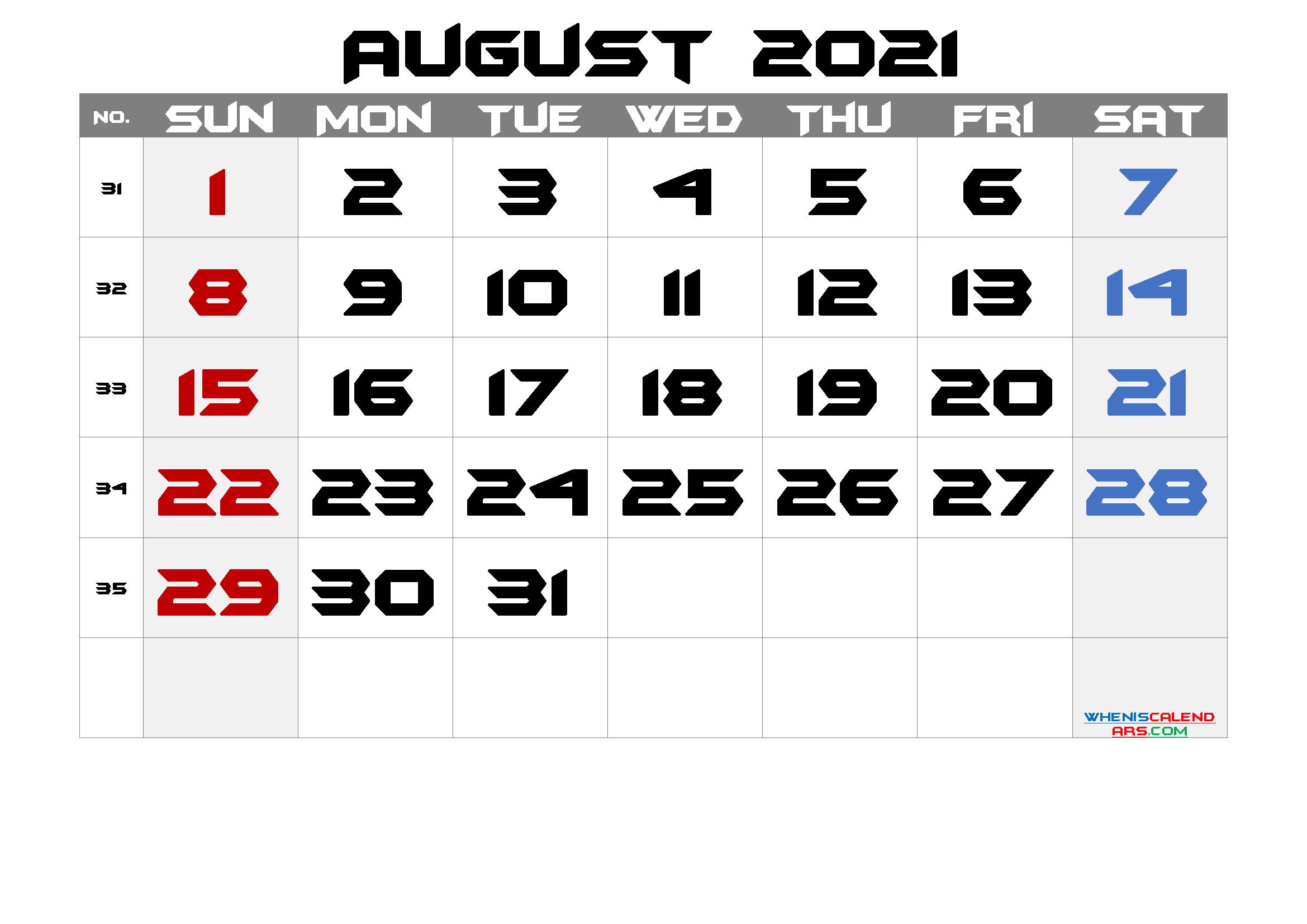 Free Printable Calendar 2021 August Free Premium In 2020 Calendar Printables Free Printable Calendar Printable Calendar