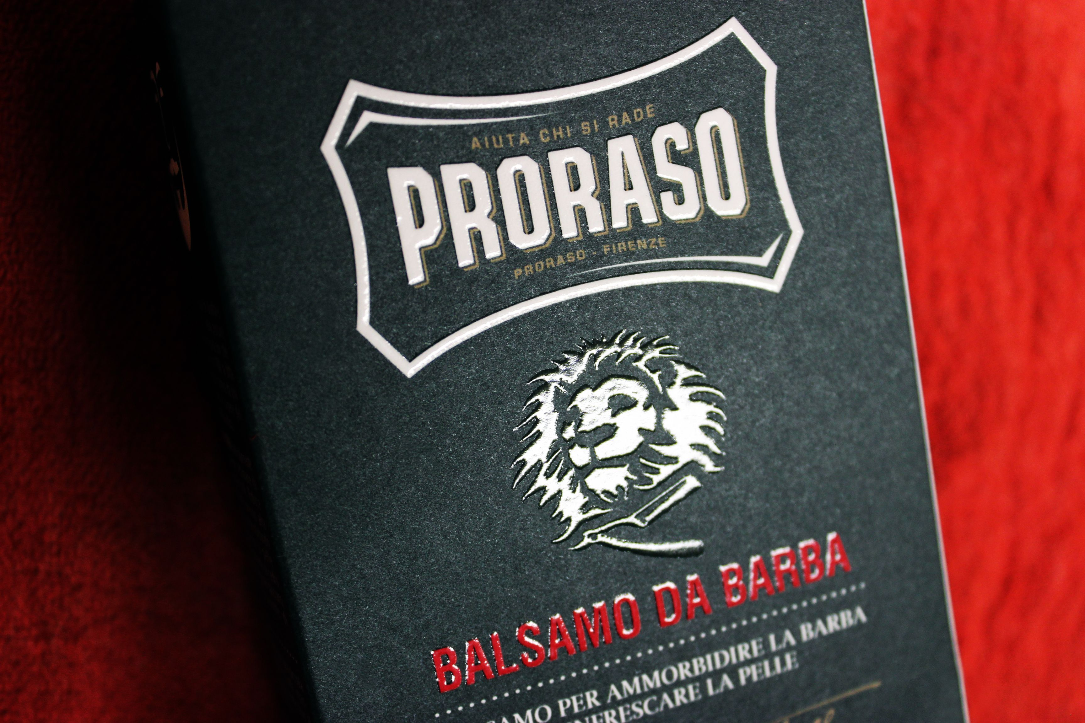 Soothes And Softens Beard Hair As It Grows With Proraso Beardbalm Frescare Scented A