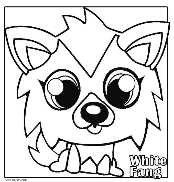 moshi monsters coloring pages # 7
