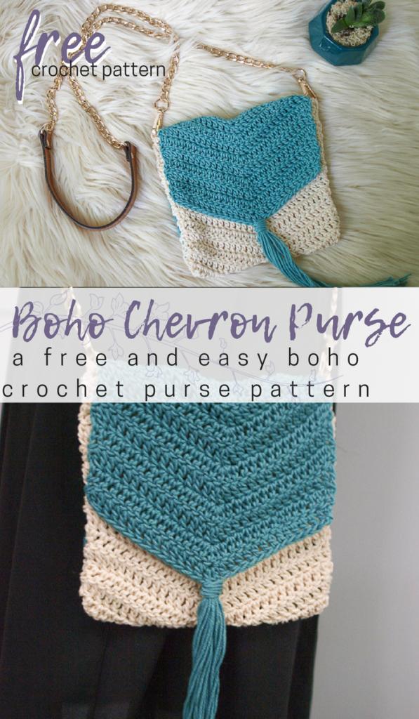 Free Easy Boho Crochet Purse Pattern   My hobby is crochet ...