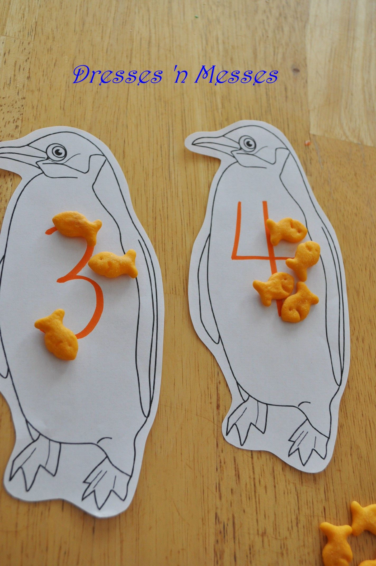 Feed The Penguins Or Penguin Counting