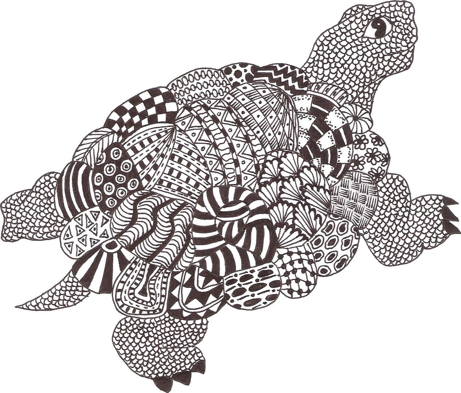 Zentangle Made By Mariska Den Boer 06