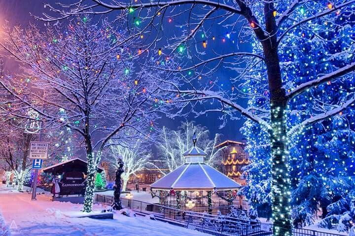 Leavenworth Washington Christmas.Christmas In Leavenworth Wa Winter Scenic Photos