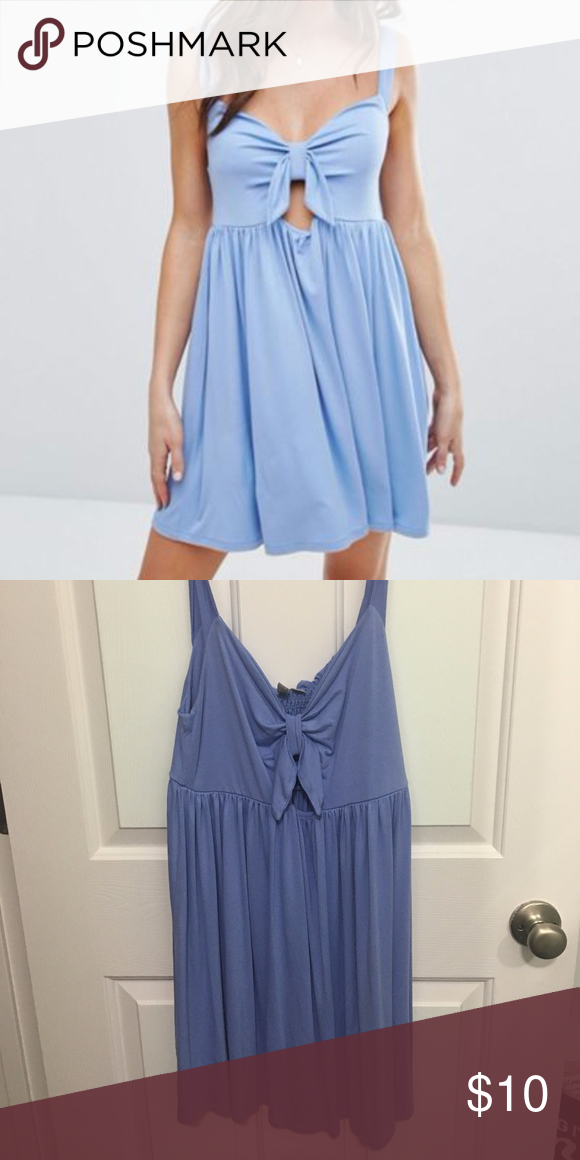 3ea2b430d831 ASOS Sundress with Bow Detail   Cut Out Super flattering on all body types.  Make me an offer! Asos Dresses Mini