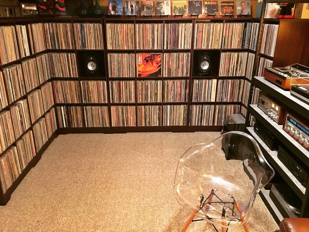 See This Instagram Photo By Midnite Ryan 932 Likes Vinyl Record Storage Vinyl Record Room Record Room