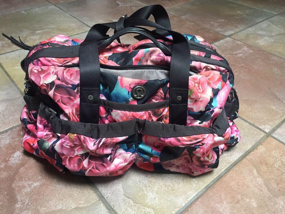 613d55f352b Lululemon Secret Garden Duffle Bag | eBay | Darcy DeFrees Closet ...