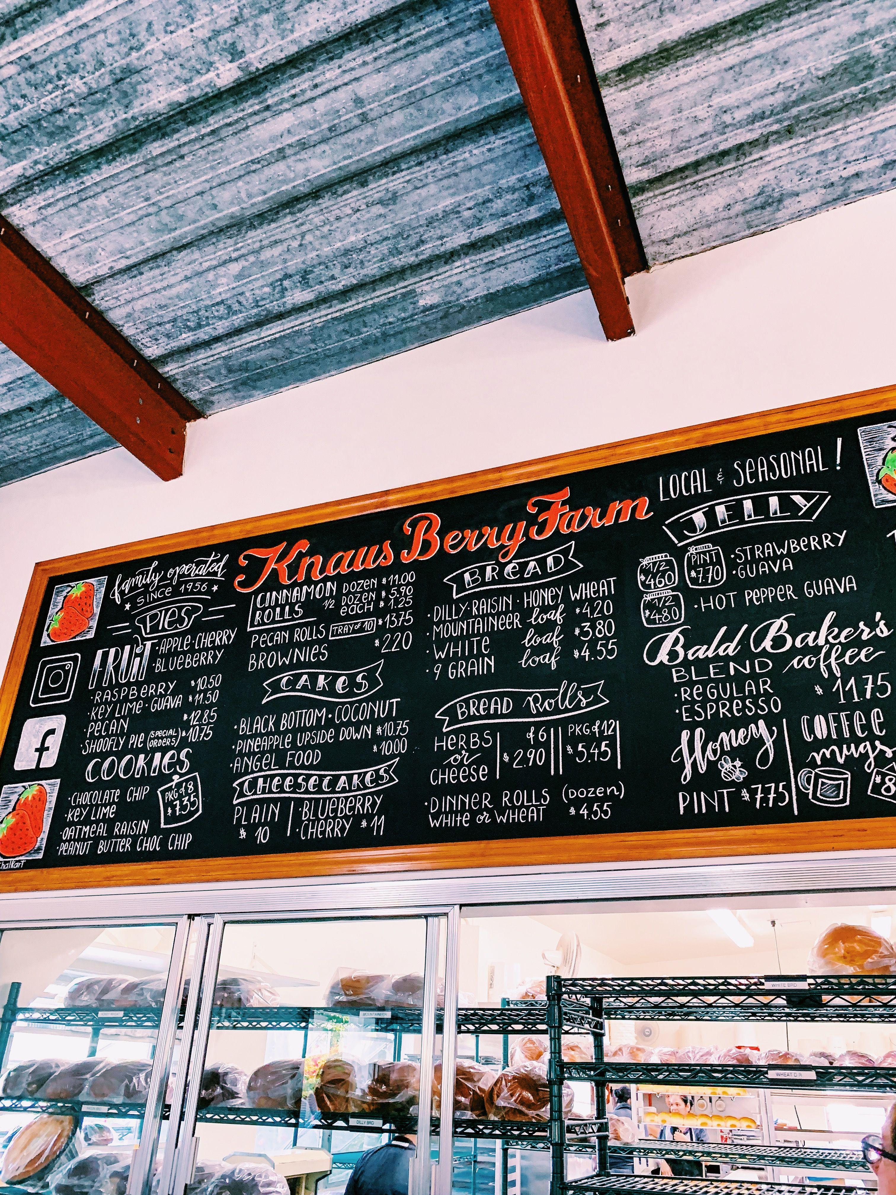Knaus Berry Farm Bakery Interior Homestead Florida Bakery Cakes