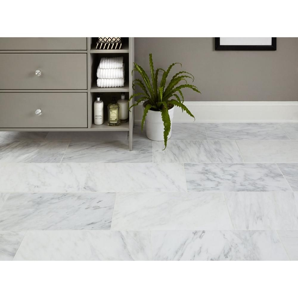 Carrara White Antique Marble Tile Floor Decor Marble Tile Floor Marble Tile Marble Floor