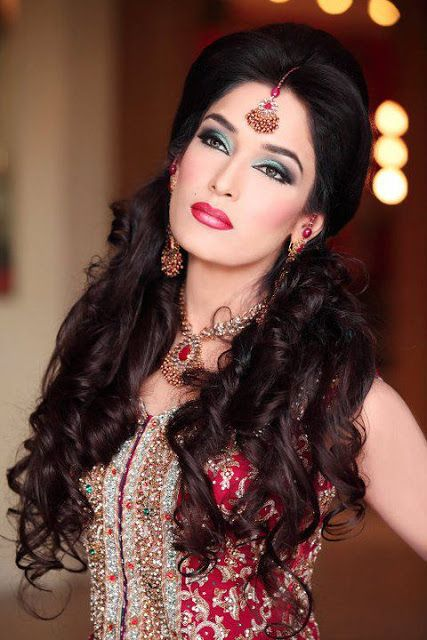 Bridals And Grooms Pakistani Dulhan Night Party Make Up Makeup