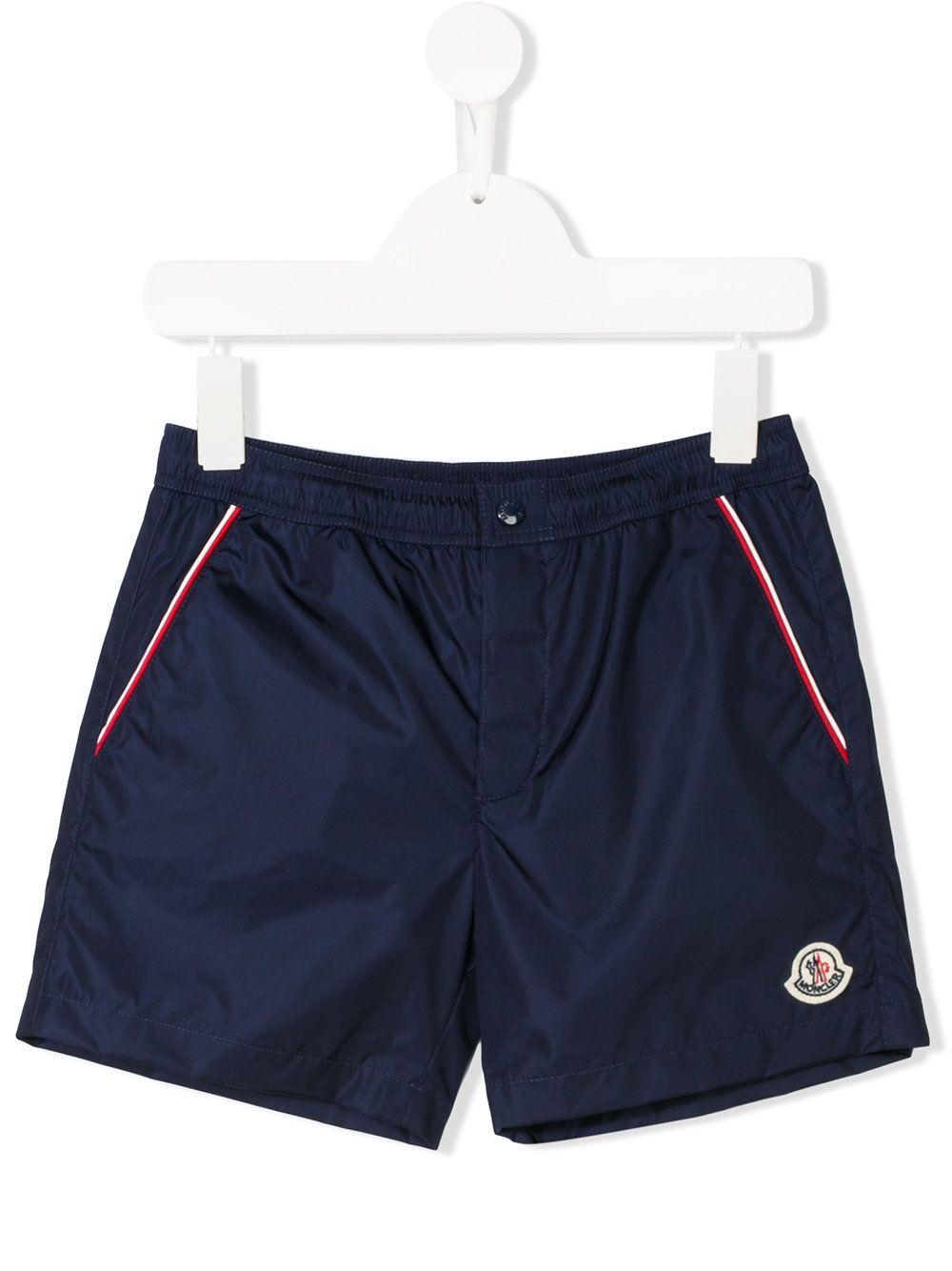 0146e6da8  moncler  swimwear  navy  swim  shorts  kids  summer  style www.jofre.eu