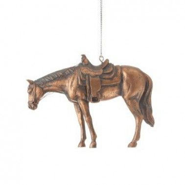 rural king western bronze quarter horse christmas ornament 649374 - Rural King Christmas Decorations
