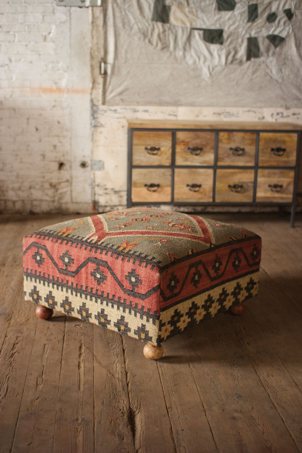 Bohemian Ottoman Unique Modern Furniture Home Decor Ottoman