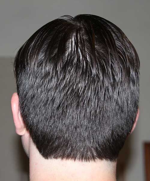 Simple men haircut back view sandy likes pinterest mens haircuts simple men haircut back view winobraniefo Gallery