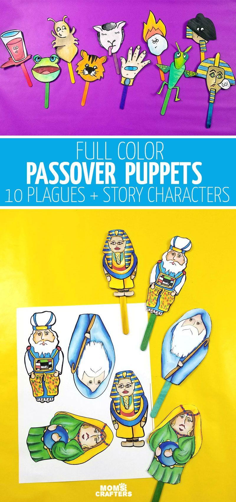 Passover Toy For Kids Passover Crafts Pesach Crafts Crafts For Kids [ 1700 x 800 Pixel ]