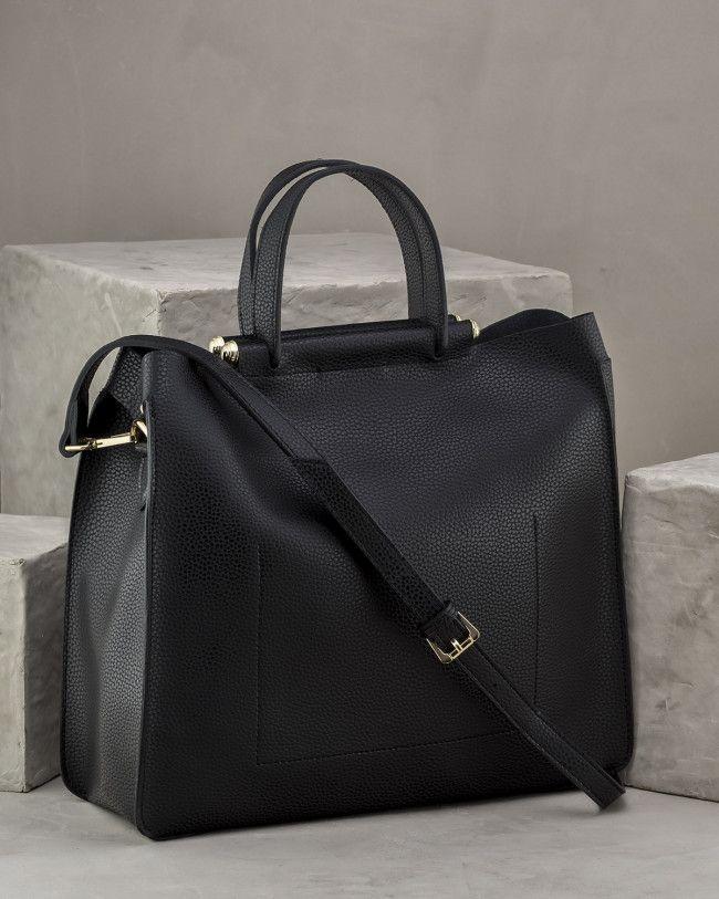Lindsey Bayan Canta Siyah Bags Top Handle Bag Fashion