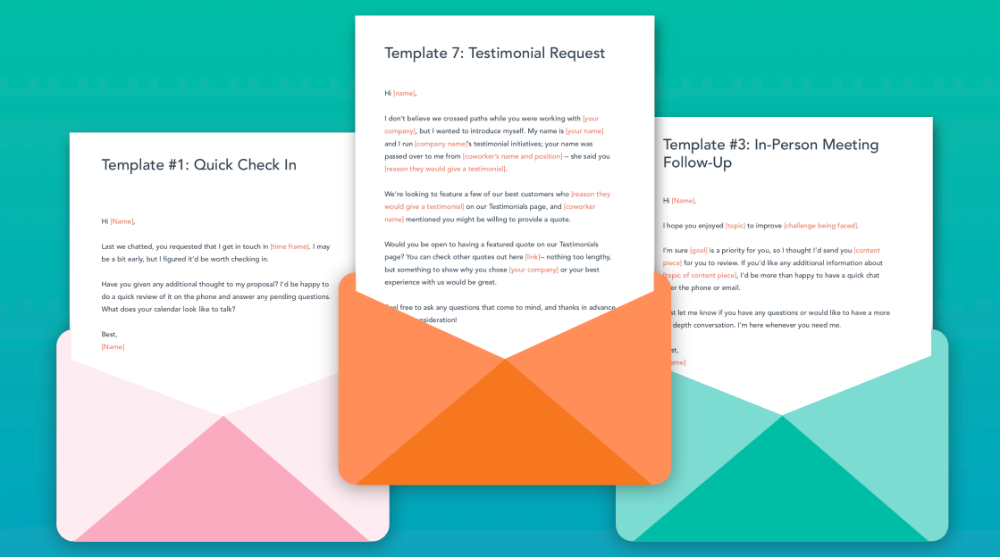 HubSpot Free Email Marketing Templates Email marketing