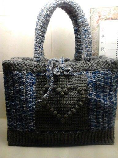 a193206ede5 AH-tas Hart | mar - Ah tas, Crochet tote en Crochet