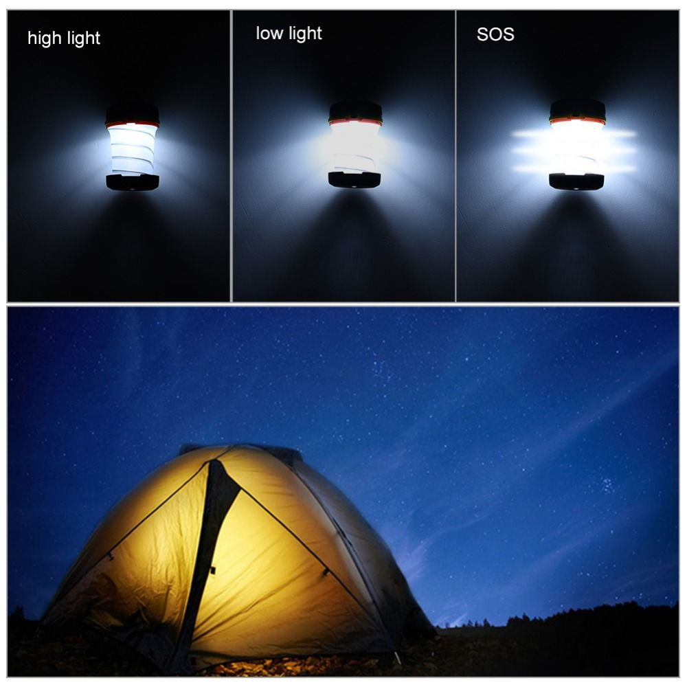 Ledgle 1w Led Solar Camping Light Outdoor Lights Led Flashlight