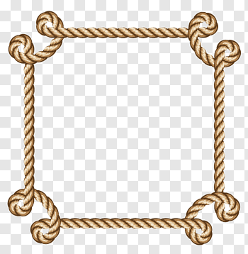 Rope Boarder Rope Rope Border Free Png Rope Frame Floral Wreaths Illustration Purple And White Flowers