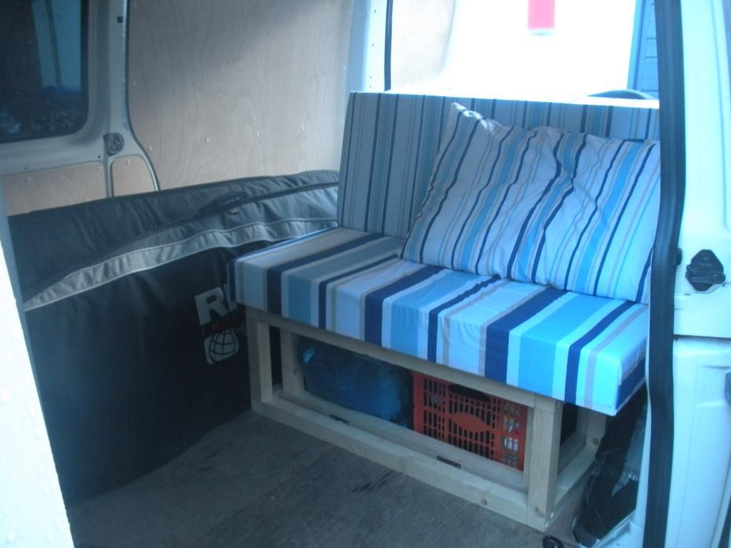 My Diy Budget Rock And Roll Bed Vw T4 Forum Vw T5 Forum Like  # Meuble Avec Vw