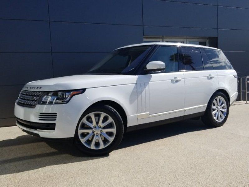 Certified 2016 Land Rover Range Rover HSE for sale in