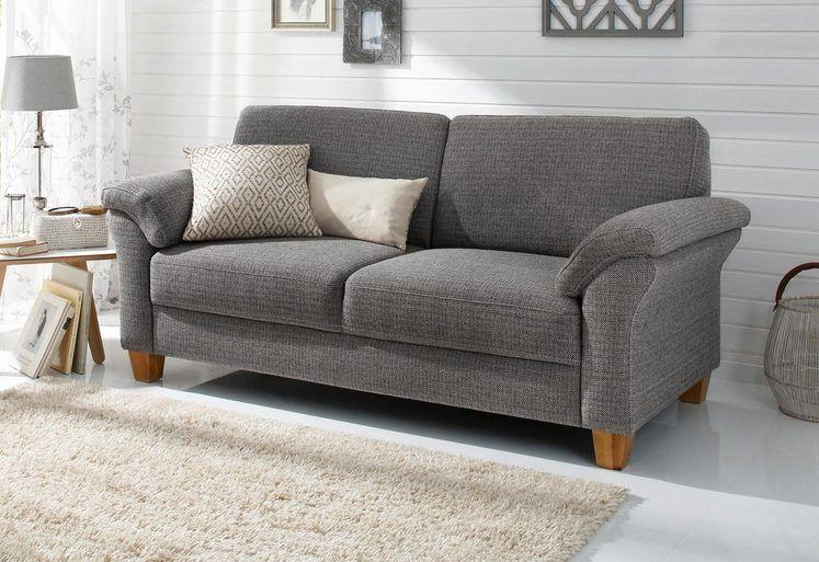 Home Affaire 2 Sitzer Borkum Mit Federkern Otto Haus Deko Landhaus Mobel 3 Sitzer Sofa
