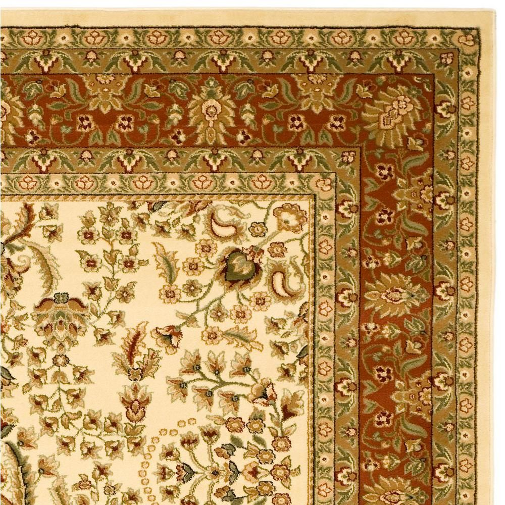 Safavieh Lyndhurst Ivory Rust 8 Ft 11 In X 12 Area Rug