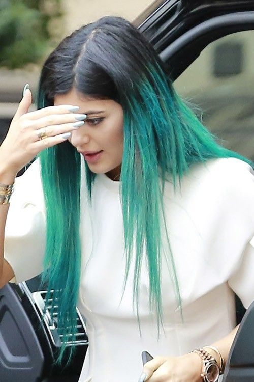 Kylie Jenner Blue Hair - Google Search