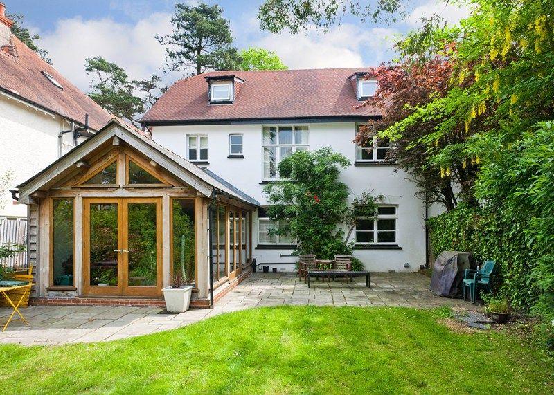 Border Oak - A beautiful oak framed Garden Room extension on an ...